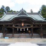 日本百名山のひとつ筑波山を御神体として祀る「筑波山神社」
