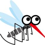 酷暑は蚊も辛い、気温35度以上で動きが鈍り、発生源も減少する