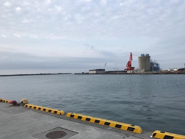 日立久慈漁港へ偵察に行ってみた