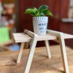 簡単DIY木工ミニテーブル作ってみた夏休み工作に是非